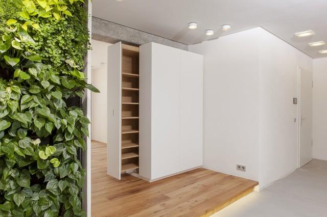 loft versteckter stauraum modern flur stuttgart. Black Bedroom Furniture Sets. Home Design Ideas