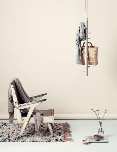 Moderne Design Garderobe Copenhanger Aus Holz