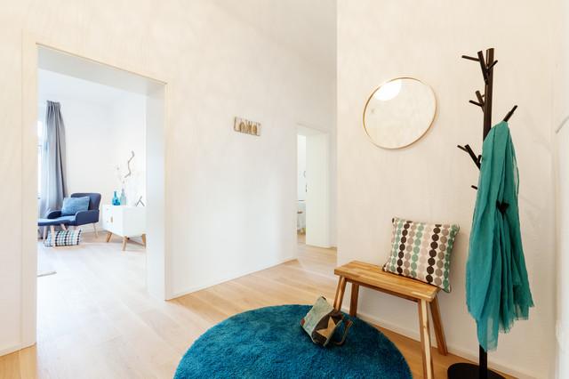 musterwohnung in essen skandinavisch flur essen. Black Bedroom Furniture Sets. Home Design Ideas