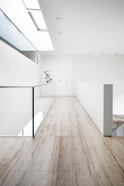 Naturstein Neubau Haus G Modern Hall