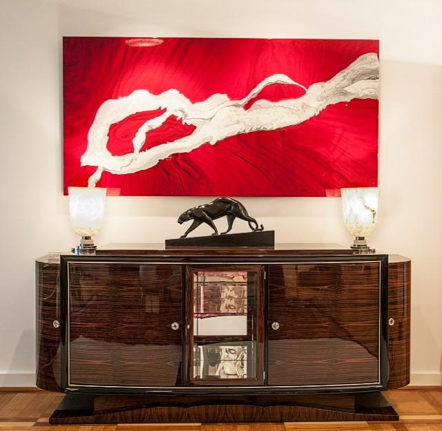 vitrine modern cool wohnzimmer beleuchtung modern modern