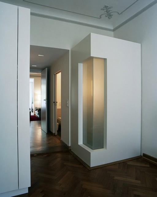 tu münchen - appartements für professoren - modern - flur, Innenarchitektur ideen