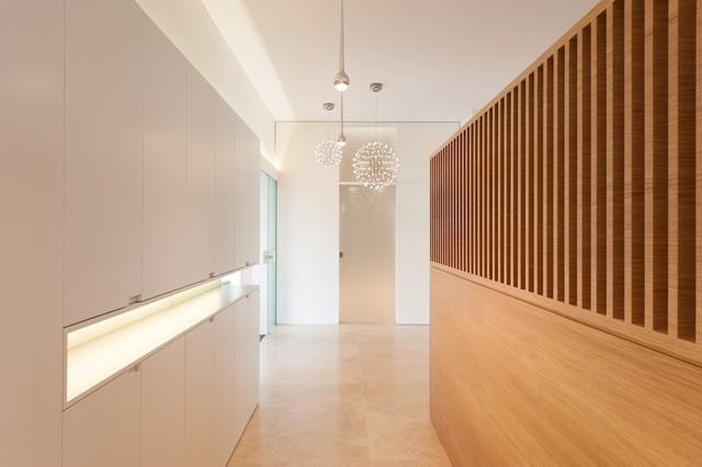 villa g - minimalistisch - flur - münchen - von innenarchitektur, Innenarchitektur ideen
