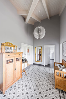 Landhausstil Flur Ideen Design Bilder Houzz