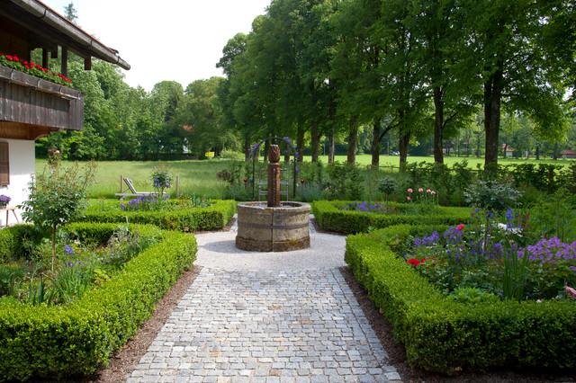 Fuchs Baut Gärten bauerngarten landhausstil garten münchen fuchs baut
