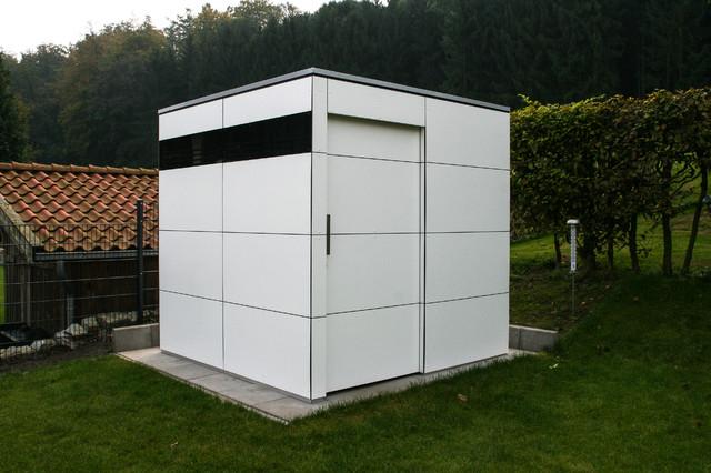Bielefeld gartenhaus gart zwei modern garten m nchen von design garten - Gartenhaus bielefeld ...