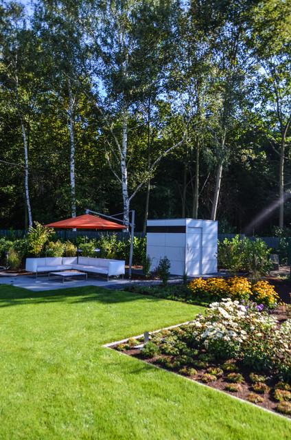 Dormagen design gartenhaus gart modern garten d sseldorf von design garten - Gartenhaus einrichtungstipps ...