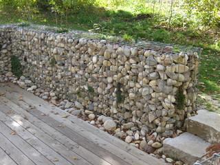 eindrücke - steinmauer, Gartenarbeit ideen