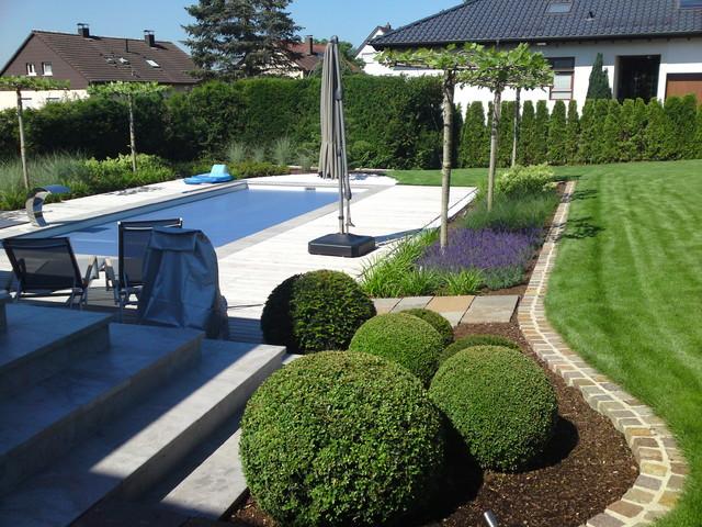Garten geometrie for Exklusive gartengestaltung