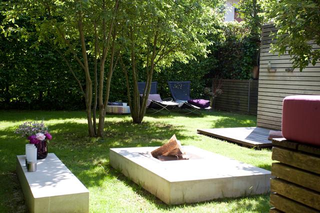 Gartengestaltung Hausgarten München-Trudering - Modern - Garten ...