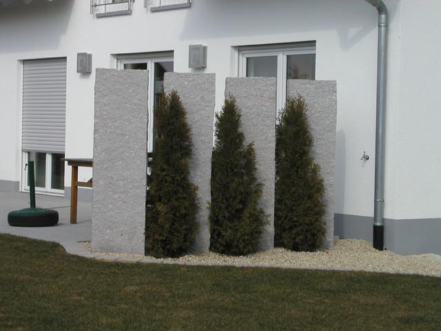 Gartengestaltung sichtschutz beispiele