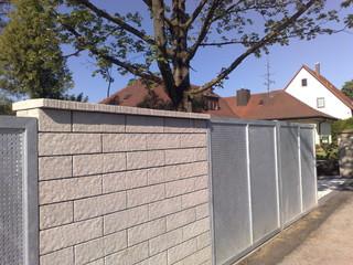 gartenmauer trento mur mauer garten n rnberg von grimm garten und landschaftsbau. Black Bedroom Furniture Sets. Home Design Ideas