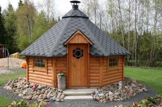 Grillhütte / Kota 16,5 m² - Skandinavisch - Garten - Sonstige - von ...