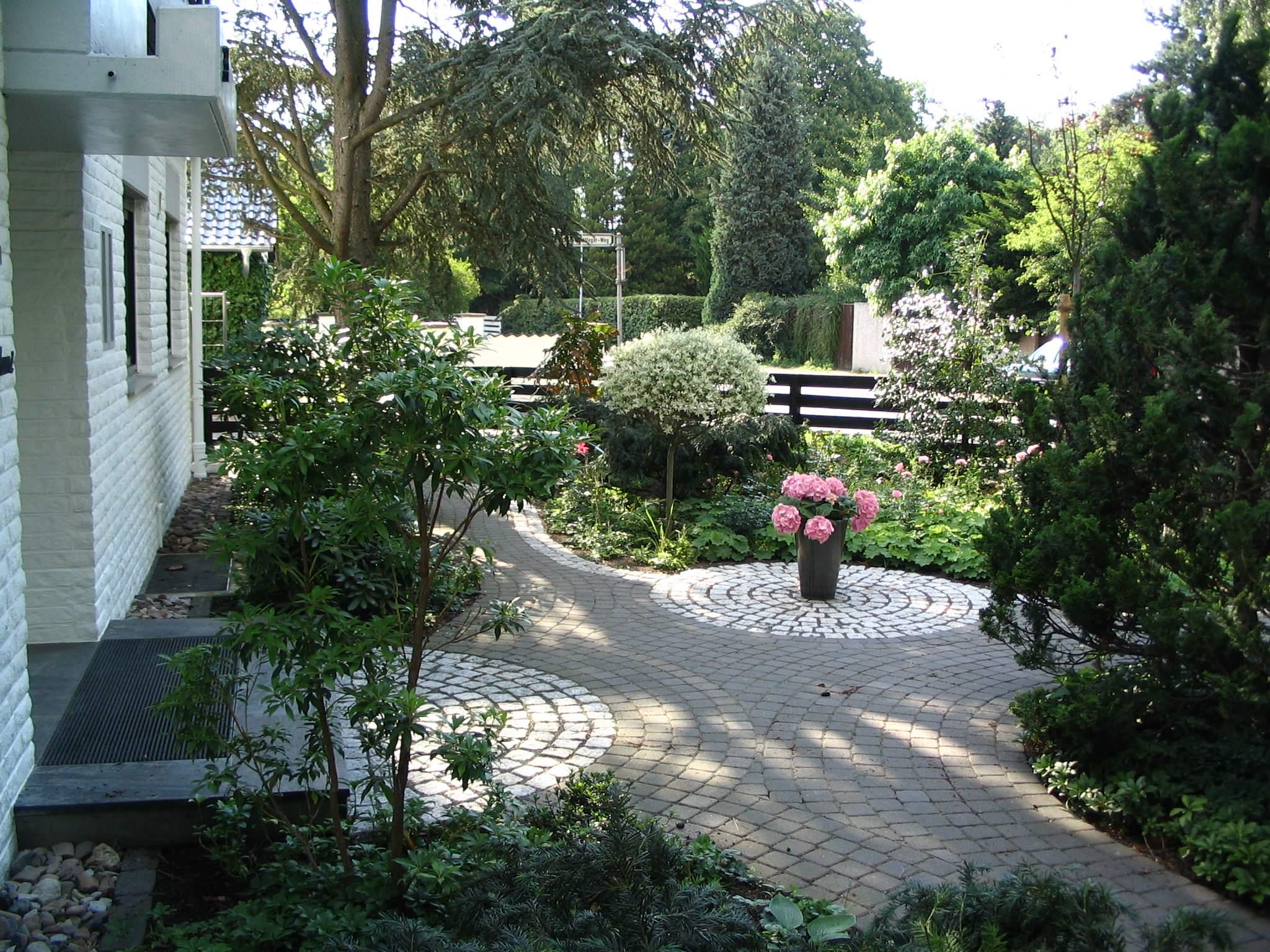 klasischer Vorgarten Hannover