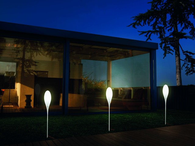 Kundalini Spillo Gartenbeleuchtung Mit Spiessleuchten