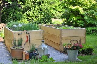 hochbeet anlegen bef llen und bepflanzen. Black Bedroom Furniture Sets. Home Design Ideas