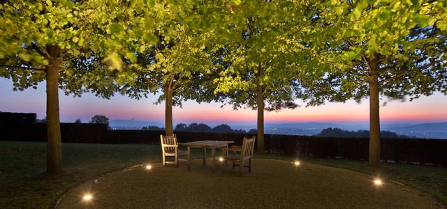 Lichtplanung Garten lichtplanung garten haus p außenanlage farmhouse landscape