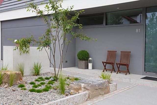 minimalistische bepflanzung minimalistisch garten frankfurt am main von g rten von heininger. Black Bedroom Furniture Sets. Home Design Ideas
