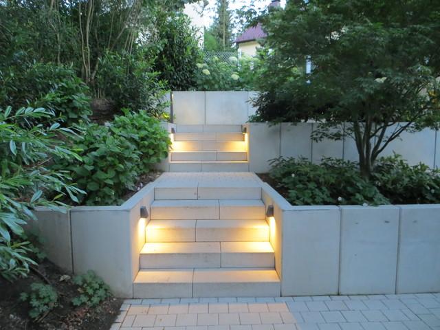 Moderne gartengestaltung hanglage  Garten Am Hang Gestalten – 28 Nutzungsideen Der Hanglage ...