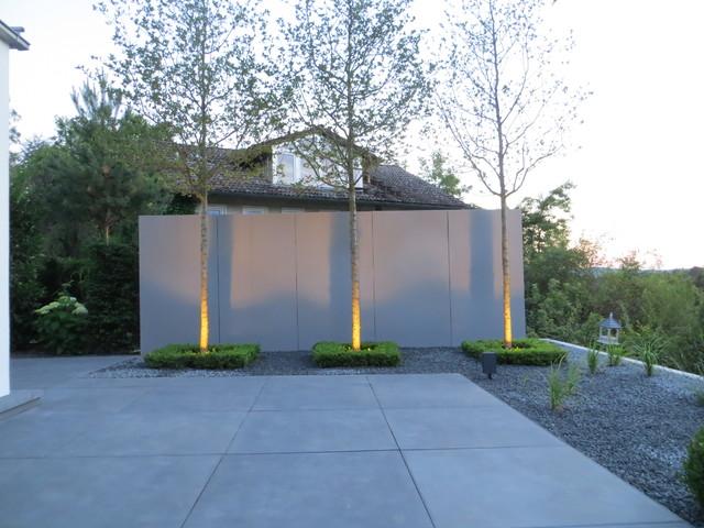 Moderner hanggarten in coburg - Garten und landschaftsbau coburg ...