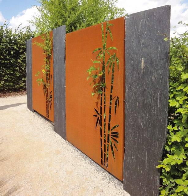 paras corten sichtschutz bambus, Garten und erstellen