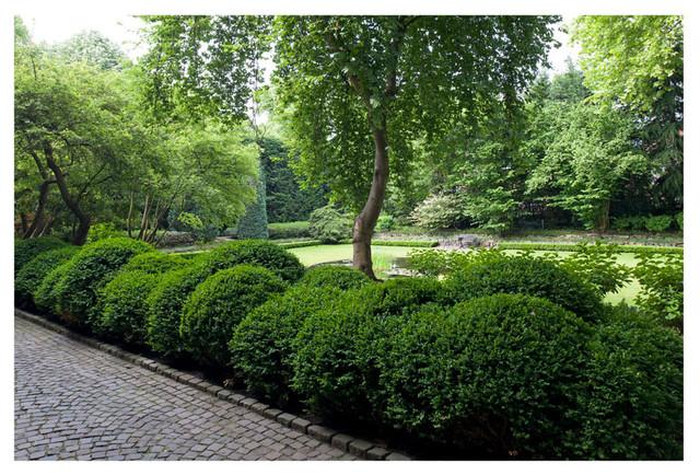 Garten Landschaftsbau Köln parkgarten köln marienburg entwurf arno schützendorf klassisch