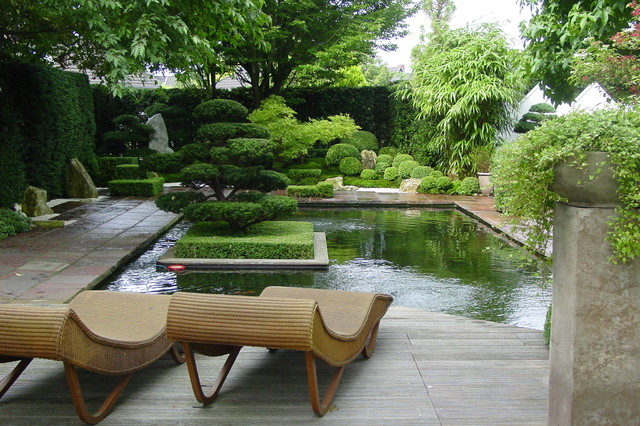 privater garten in bremerhaven - asian - landscape - bremen - by, Design ideen