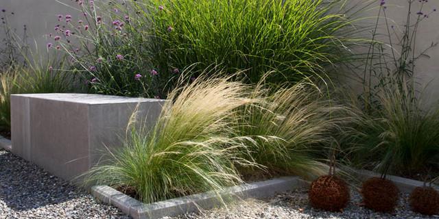 steinvorgarten modern – reimplica, Hause und Garten