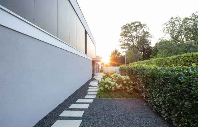 Sc14 Einfamilienhaus Im Kreis Göppingen Minimalistisch Garten