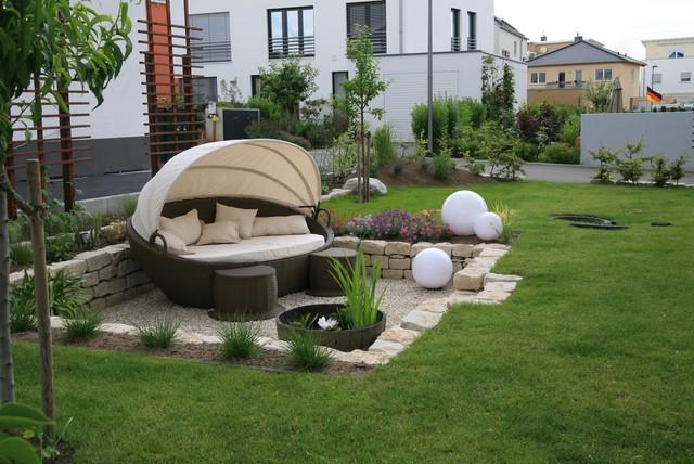 Moderner Puristischer Garten : Moderner Garten Moderne Gaerten Moderne Gartengestaltung Villengarten
