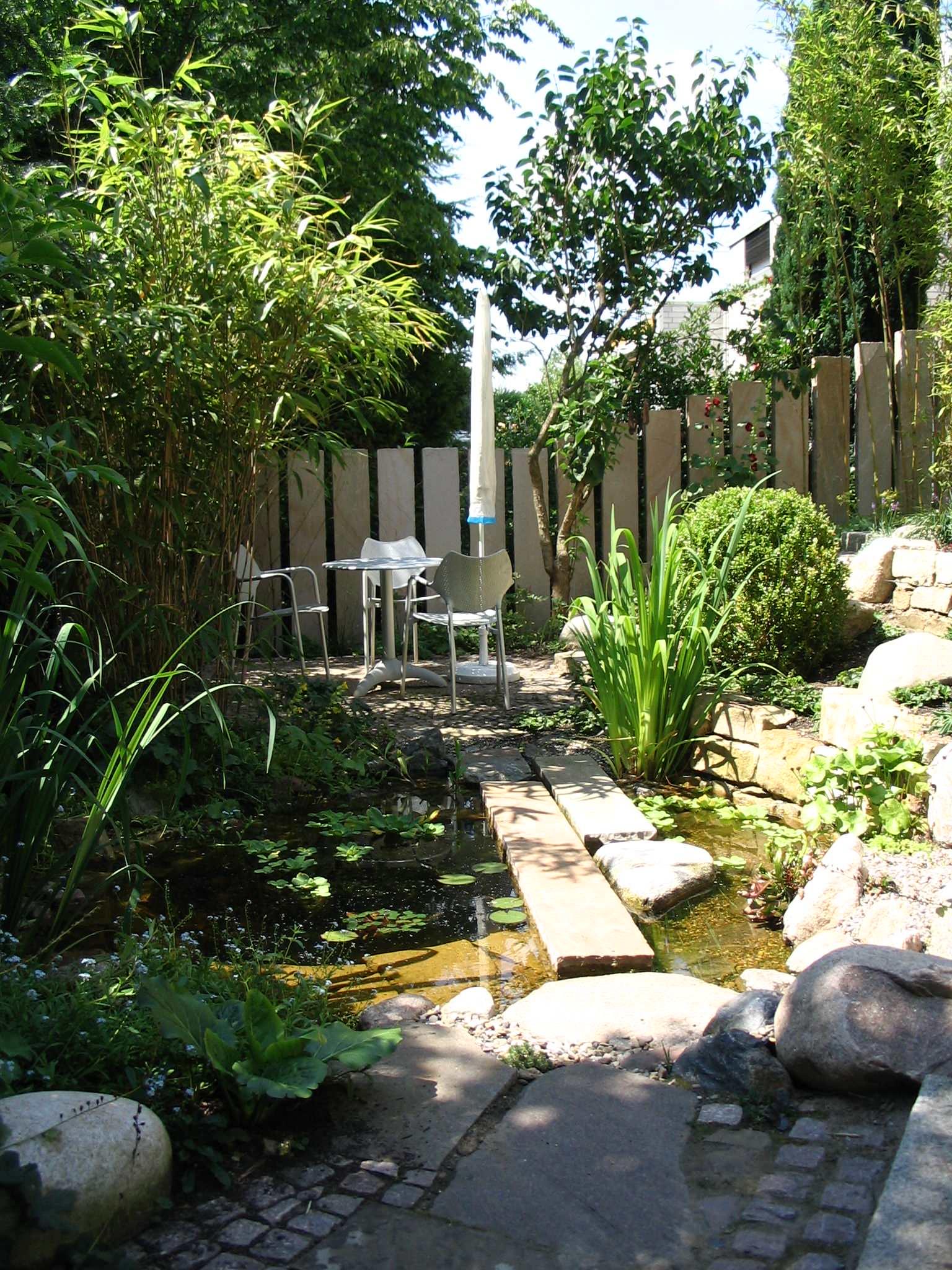 Separée für den Garten