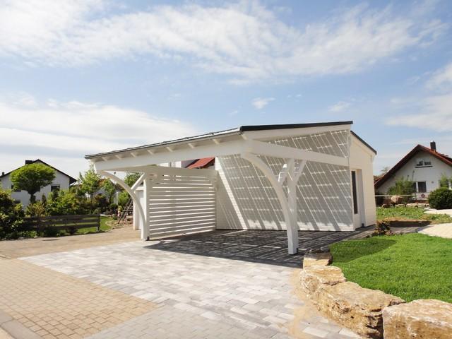Carport Lösungen solarterrassen und carport lösungen modern garten berlin