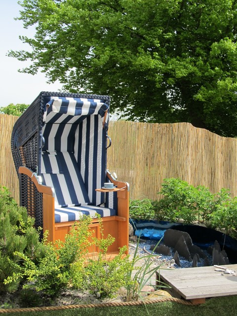 strand insel maritim garten hamburg von gartenio. Black Bedroom Furniture Sets. Home Design Ideas