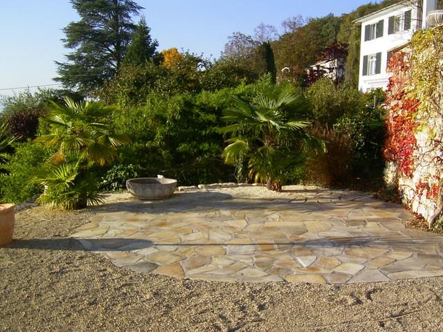 terrassengarten am see mediterran garten stuttgart von trautmann g rten gmbh. Black Bedroom Furniture Sets. Home Design Ideas