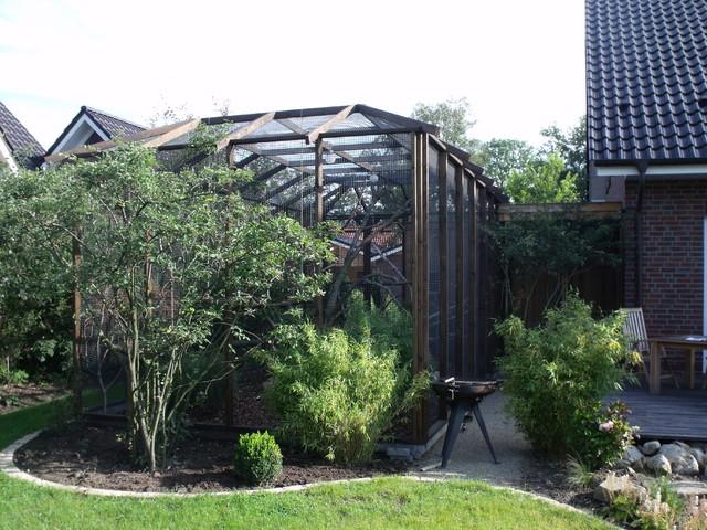 Garten Janssen voliere im garten ein paradies für vögel aller landhausstil