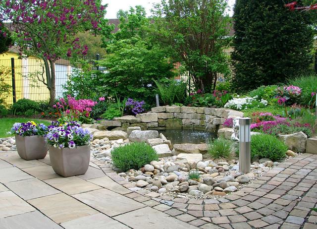 Wasser Im Garten Modern Garten