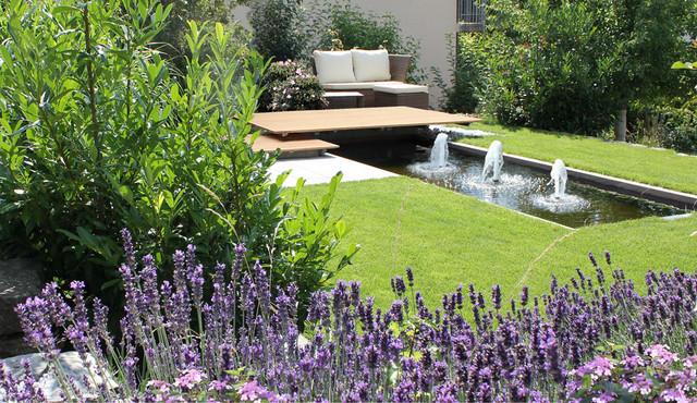 wasserbecken für garten: wasserbecken im garten anlegen u controng, Garten und Bauen