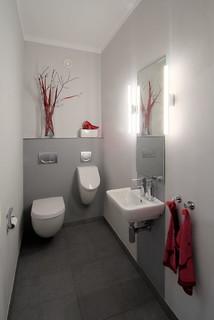 Kleine Gästetoilette & Gäste-WC mit Urinal: Ideen für ...
