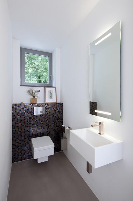 einfamilienhaus in meerbusch modern g stetoilette. Black Bedroom Furniture Sets. Home Design Ideas