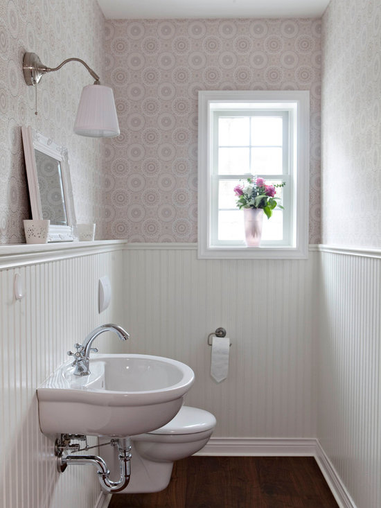 Mounting A Farmhouse Sink : ... Bath Design Ideas, Pictures, Remodel & Decor with a Wall-Mount Sink