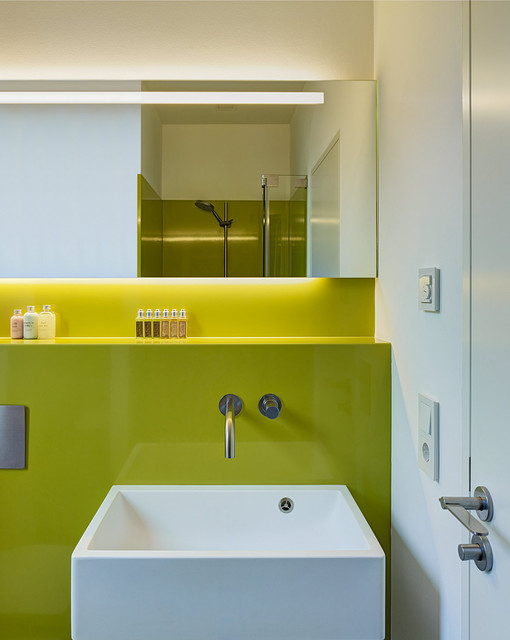 Das Licht Bad Homburg wohnhaus bad homburg - contemporary - powder room - frankfurt -
