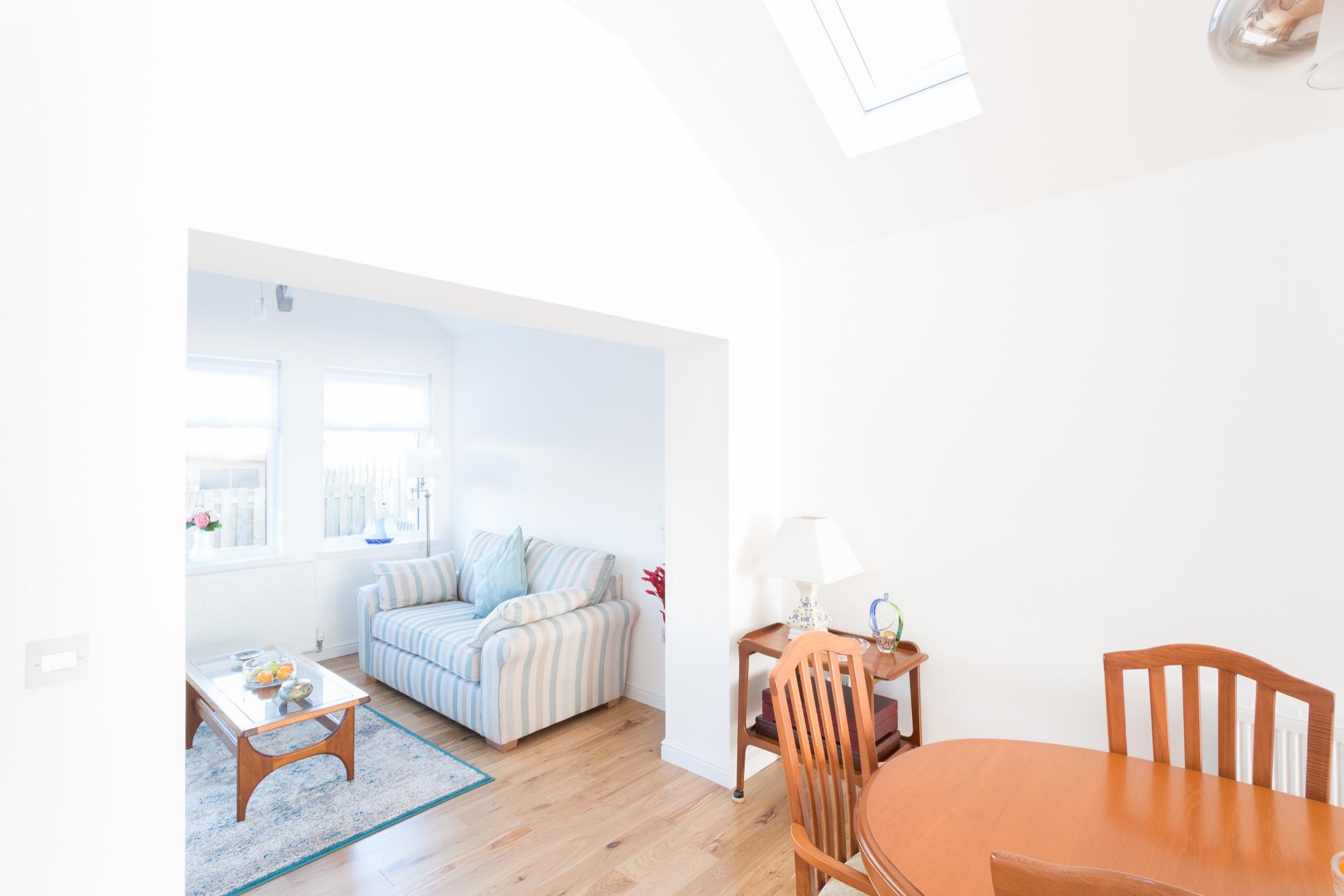 Garden Room Extension & garage Conversion, Milton of Campsie