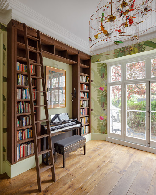 London Home Renovation Nottinghill Country Family Games Room London By The New