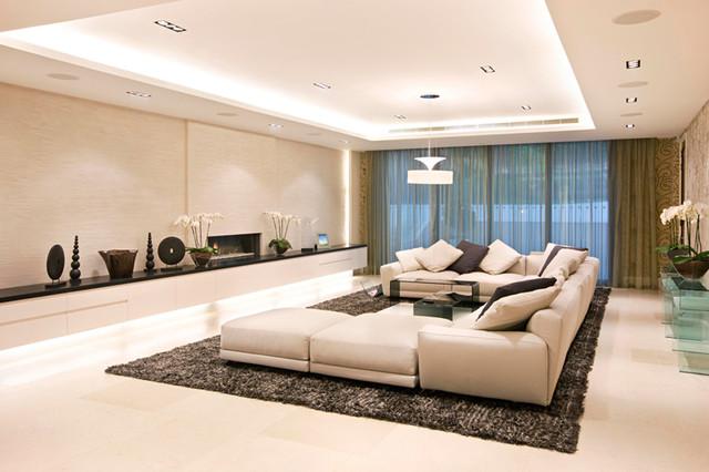 NEW JERUSALEM HOUSING DEVELOPMENT modern-family-room