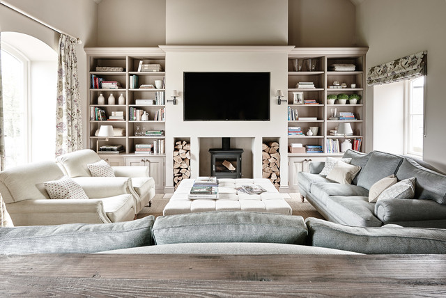 12 Tips For Creating A Cosy Country Living Room Houzz Uk