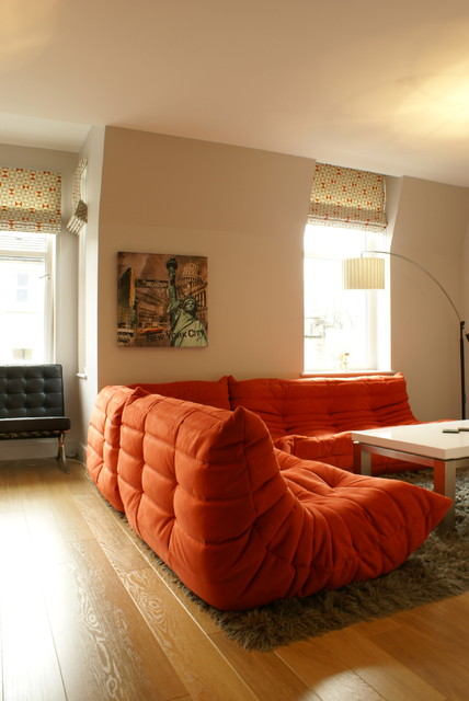 Social Space Eclectic Family Room Other Metro By