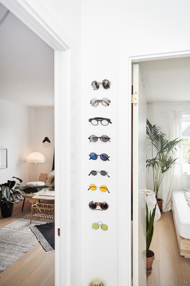 Idée de décoration pour un couloir nordique.