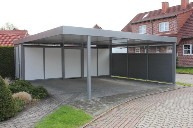 carport aus aluminium contemporary garage