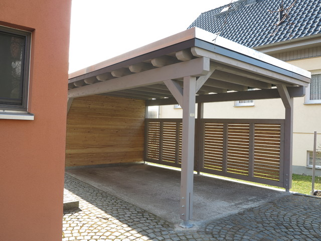 carports modern ger teschuppen other metro von. Black Bedroom Furniture Sets. Home Design Ideas
