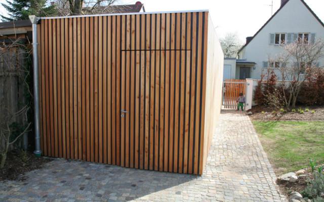 Garage Holz garage aus holz contemporary garage munich by liebald